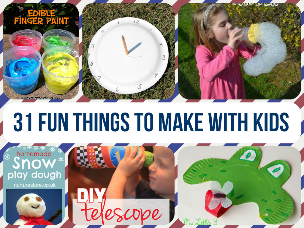 Cool and fun things to make with kids for What are fun things to draw