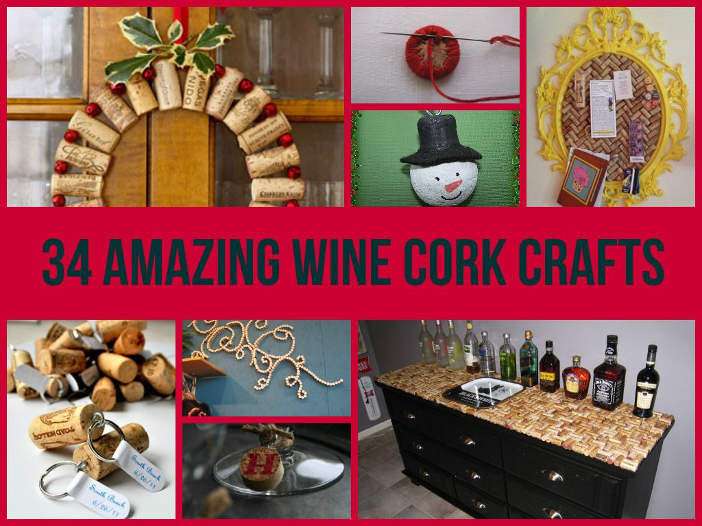 Awesome Wine Cork Crafts