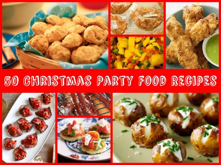 Awesome Christmas Party Food Recipes