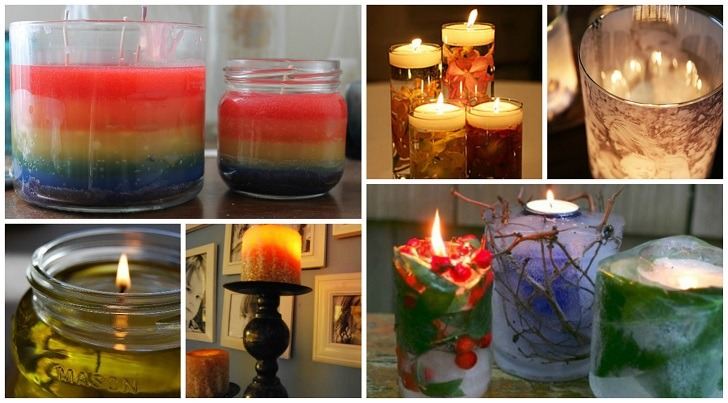 DIY Candle Ideas