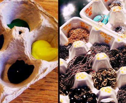 DIY Egg Cartons