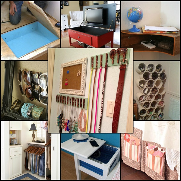 Cool Beds For Small Rooms With Limited Storage: Cool Bedroom Storage Ideas