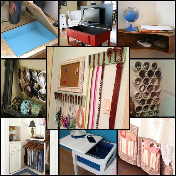 Storage Room Design Ideas: Cool Bedroom Storage Ideas