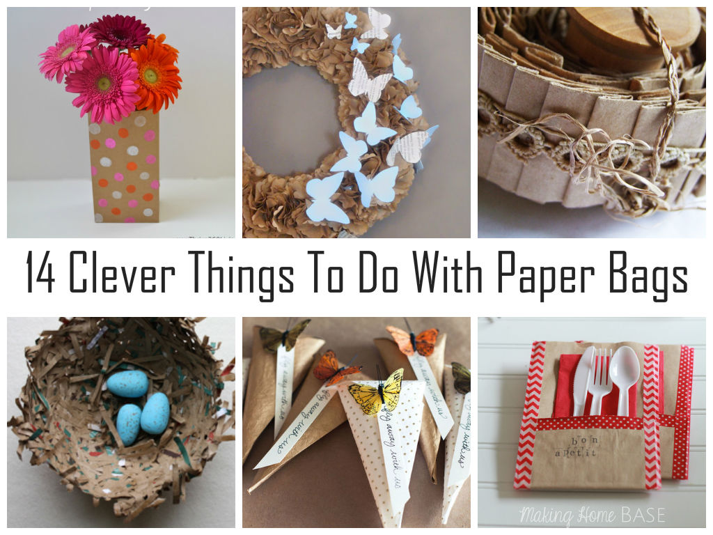 cool stuff to do with paper bags