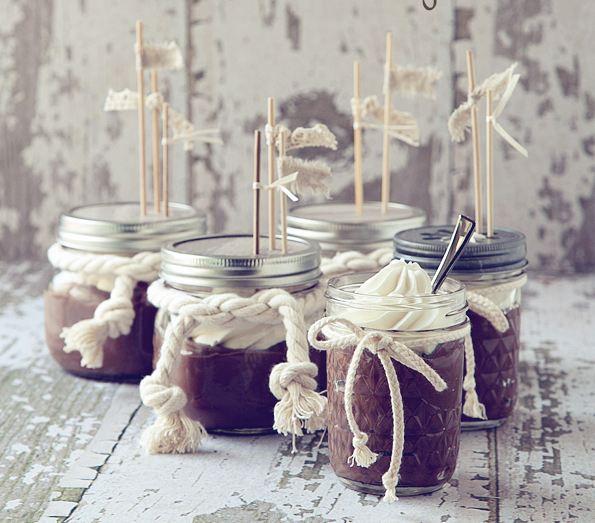 Decadent Desserts In Jars