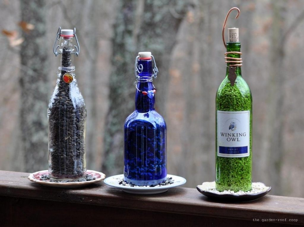 Awesome Things To Do With Wine Bottles In The Garden