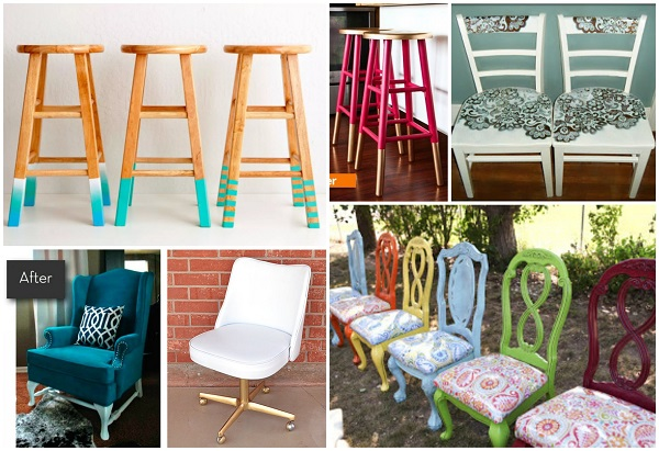 Transform A Boring Old Chair Into Something Cool