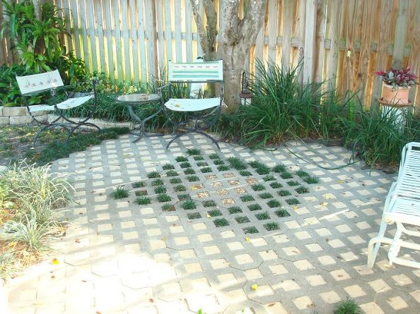 Lovely Amazing Outdoor Projects Using Concrete Blocks