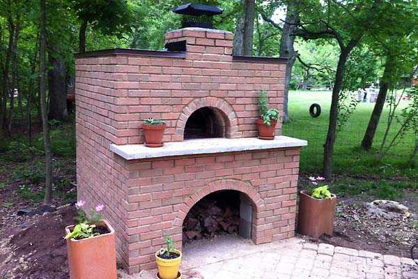 The Ultimate Backyard Brick Oven Tutorial