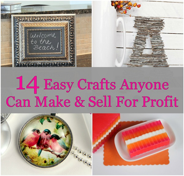Easy crafts anyone can make sell for profit for Sewing projects to make and sell