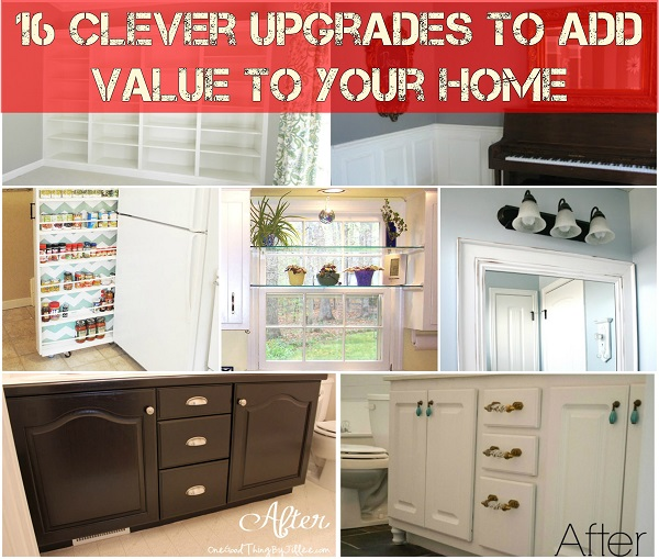 Cool upgrades to add value to your home for What upgrades add value to your home