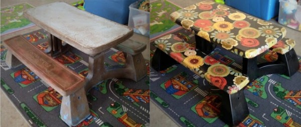 Transform Ugly Tables Into Something Beautiful