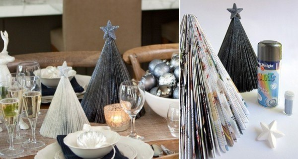 Cool DIY Mini Christmas Trees