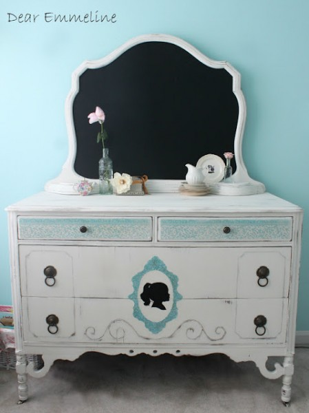 How To Transform A Boring Old Dresser