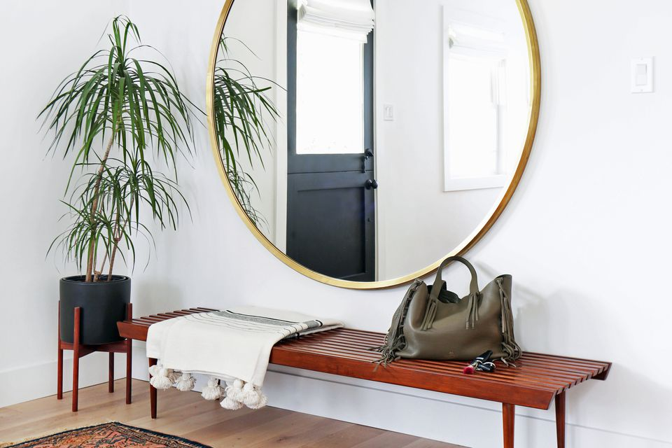 Unique and Inviting Small Entryways