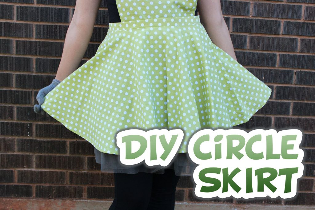 Amazing And Easy Circle Skirt Tutorials