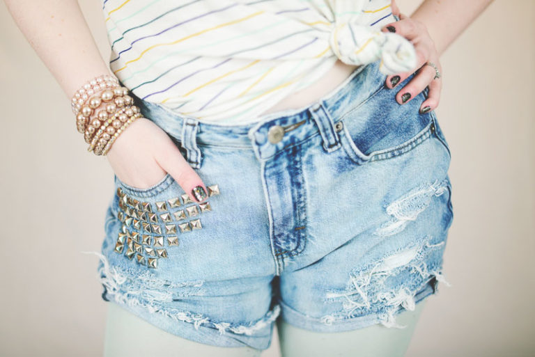 Cool DIY Cut-Offs for Spring and Summer