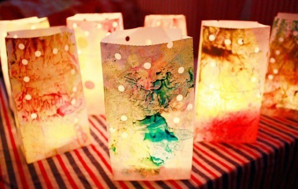 Awesome Colorful Crafts Using Melted Crayons