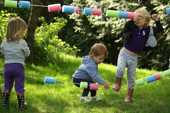 Fun Games And Crafts Made With Pool Noodles