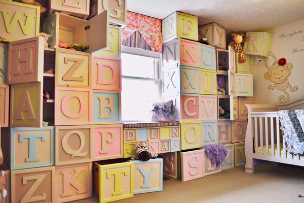 Amazing Storage Ideas for Kids' Bedrooms