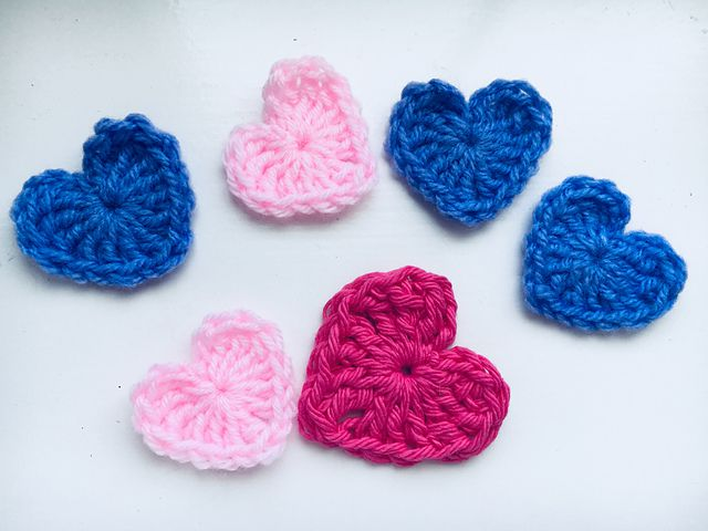 Amazing Crochet Heart Patterns For Valentines Day