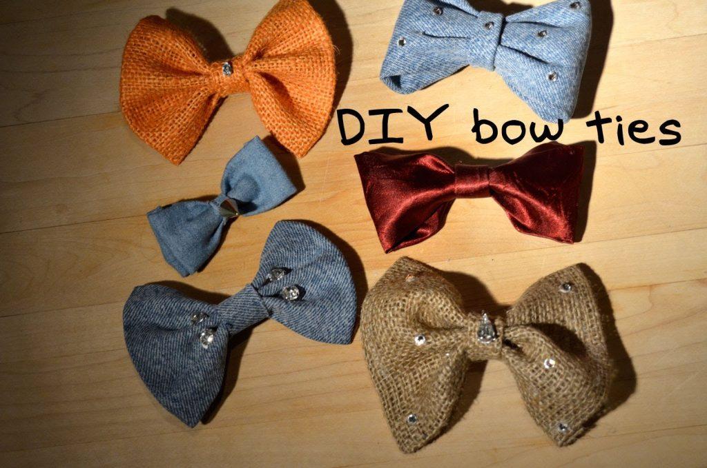 Amazing DIY Bow Ties