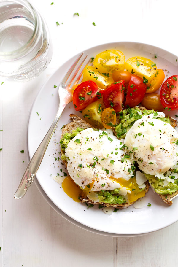 Simple poached egg and avocado toast pinch of yum forumfinder Images