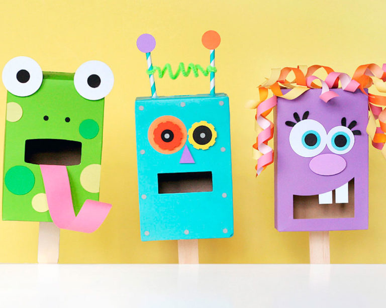 Awesome DIY Puppets Your Kids Will Love