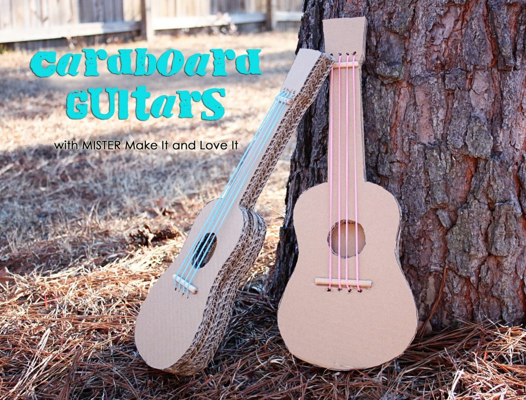 Awesome Guitar Themed Crafts