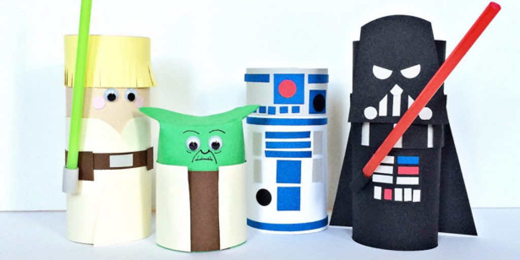 Awesome Star Wars Themed Crafts
