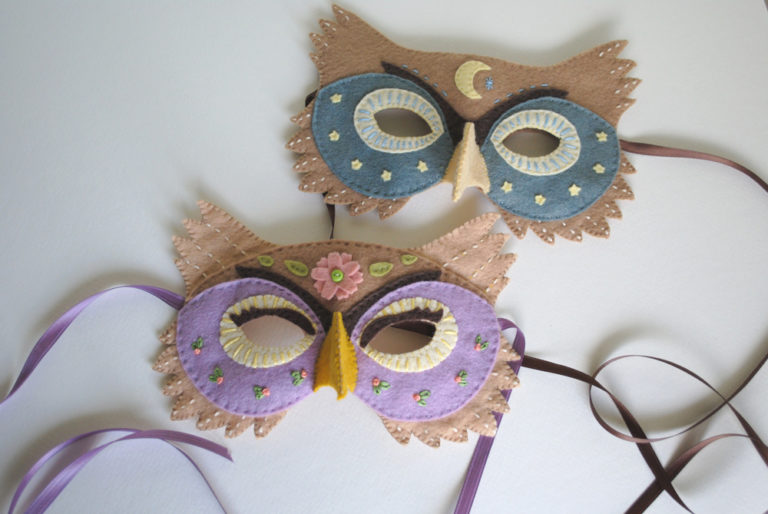 DIY Masks for Costume Parties