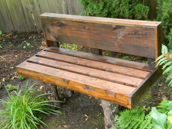 Weve Shown You Quite A Few Simple Projects Made From Upcycled Pallet Wood By Now But What If Youd Prefer To Incorporate Some Element Of Natural Too