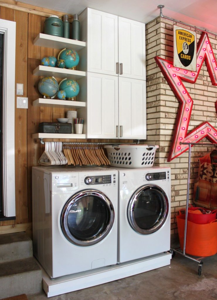 How To Transform Your Small Laundry Room
