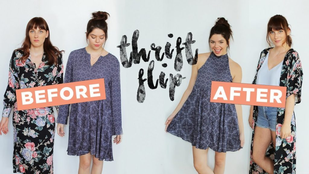 Awesome Thrift Shop Dress Alteration Tutorials