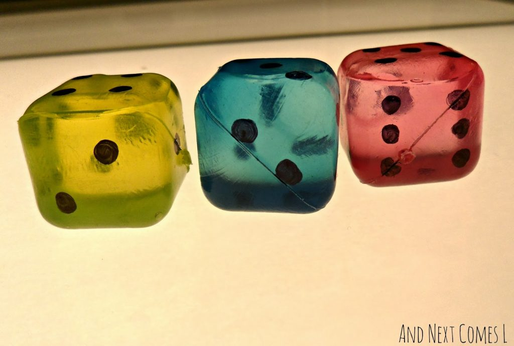 Cool Dice Themed Crafts