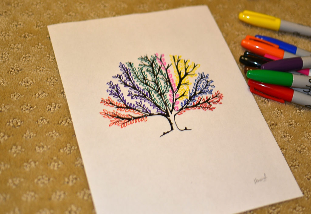 Diy Sharpie Art Ideas