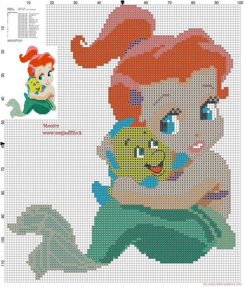 Adorable Cross Stitching Patterns for Babies