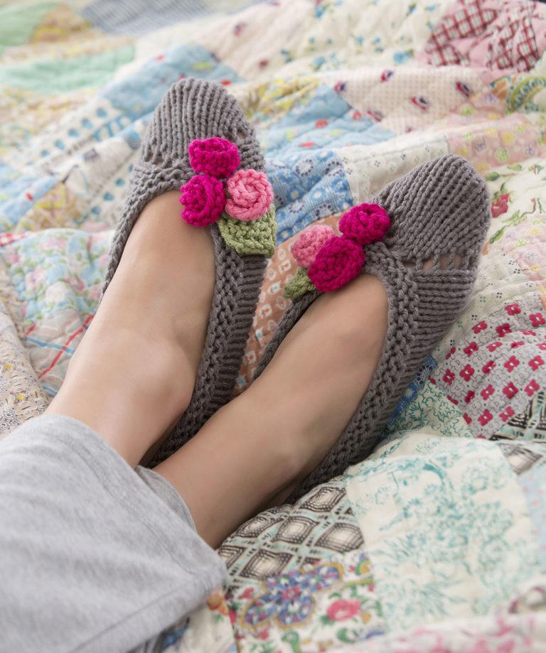 Knitted Slipper Sock Patterns