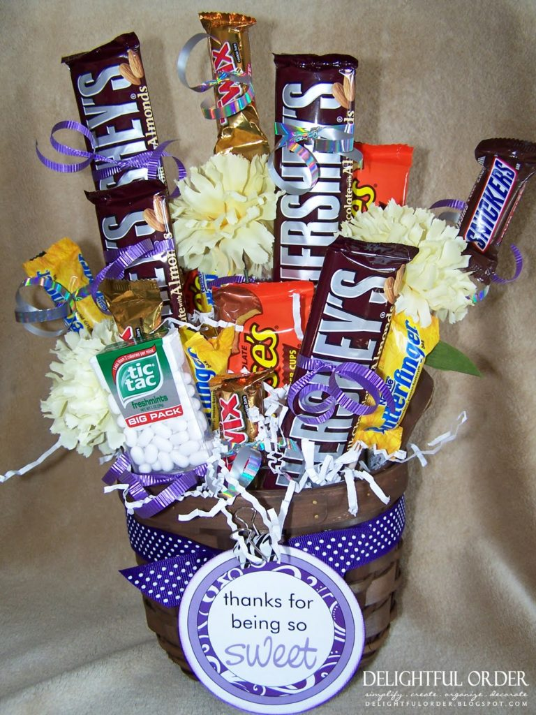 20 Diy Candy Bouquets