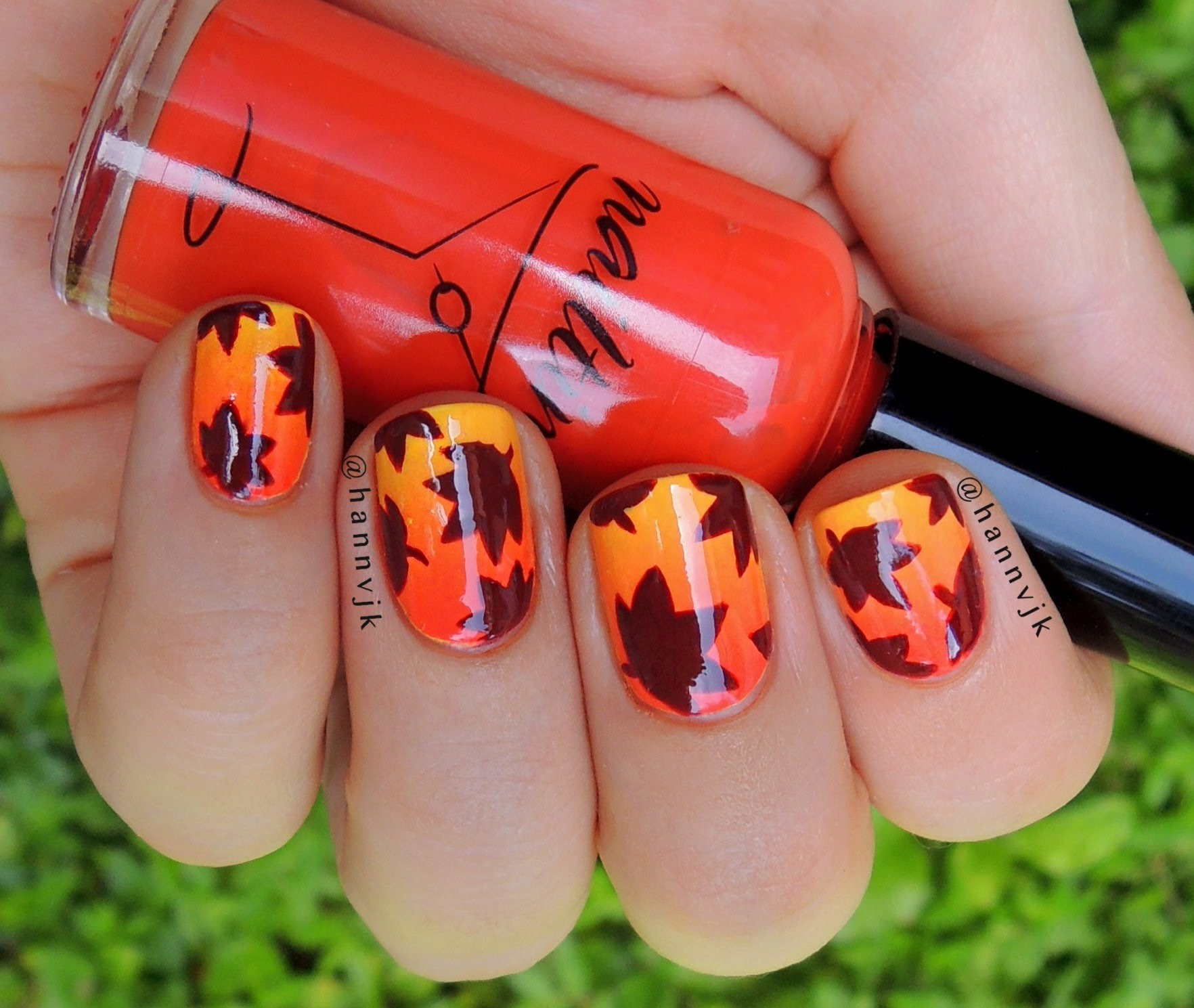 Cool Fall Nail Art Ideas