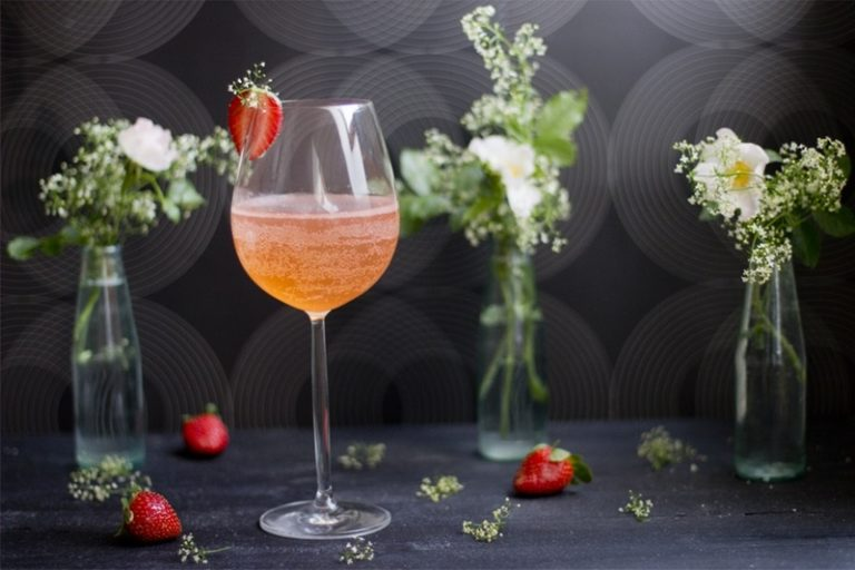 Delicious Floral Drink Recipes