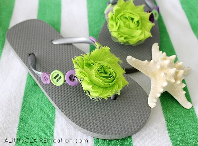 Awesome DIY Flip Flop Makeovers