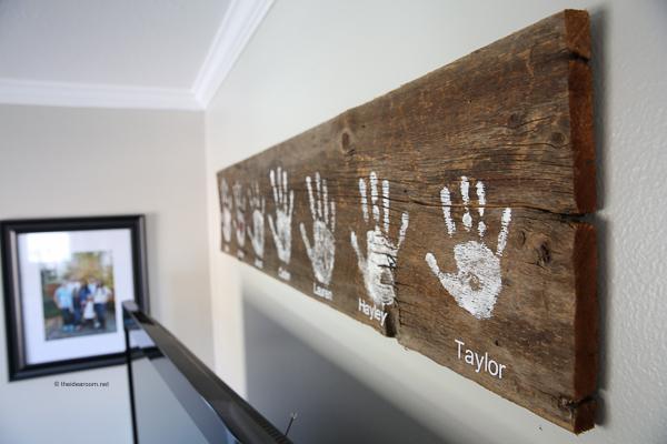 Amazing DIY Handprints Ideas