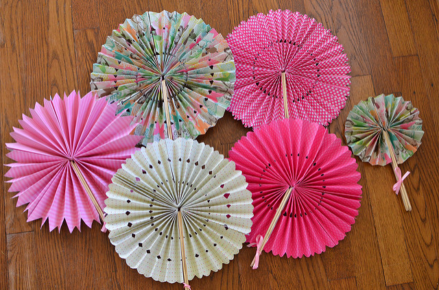 Awesome DIY Paper Fans