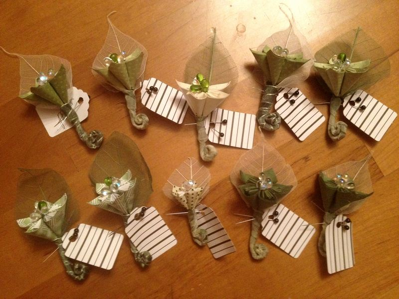 20 Perfect DIY Boutonnieres
