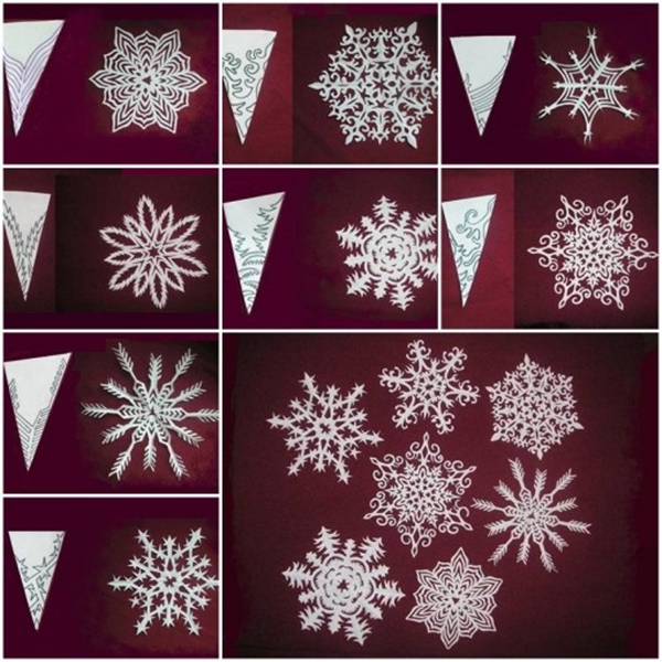 Awesome DIY Paper Snowflakes