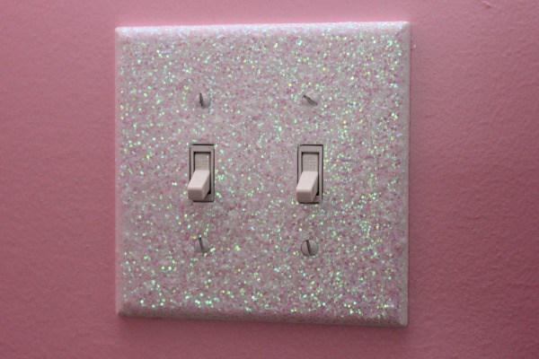 Unique DIY Light Switch Plates