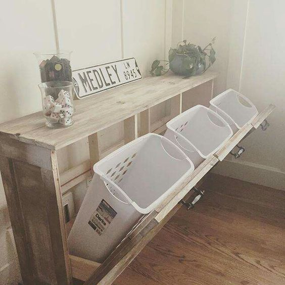 How To Repurpose Laundry Baskets