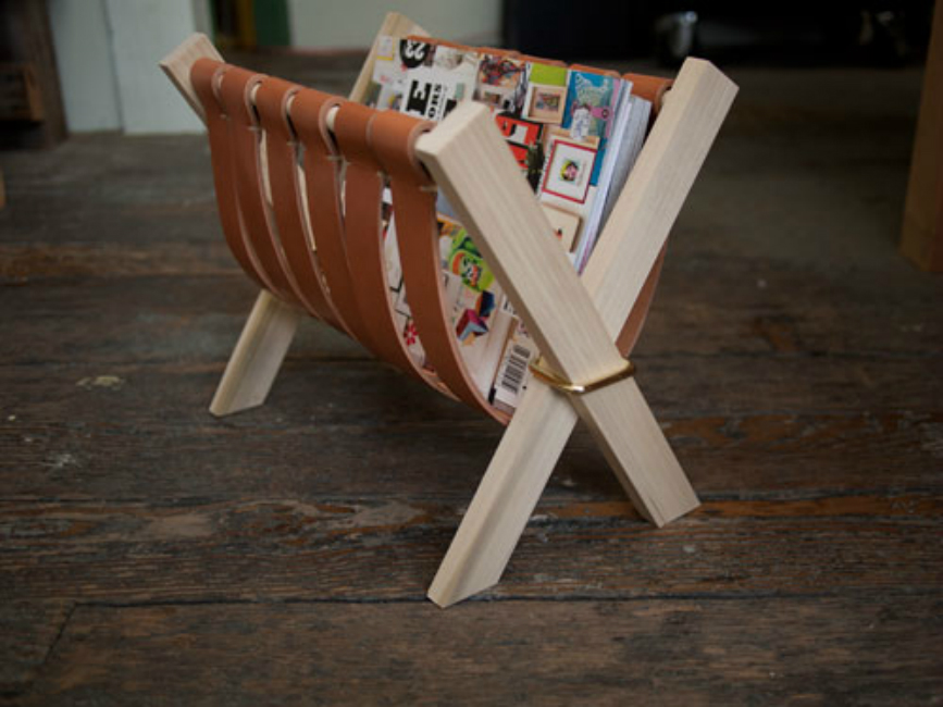 Amazing DIY Magazine Racks
