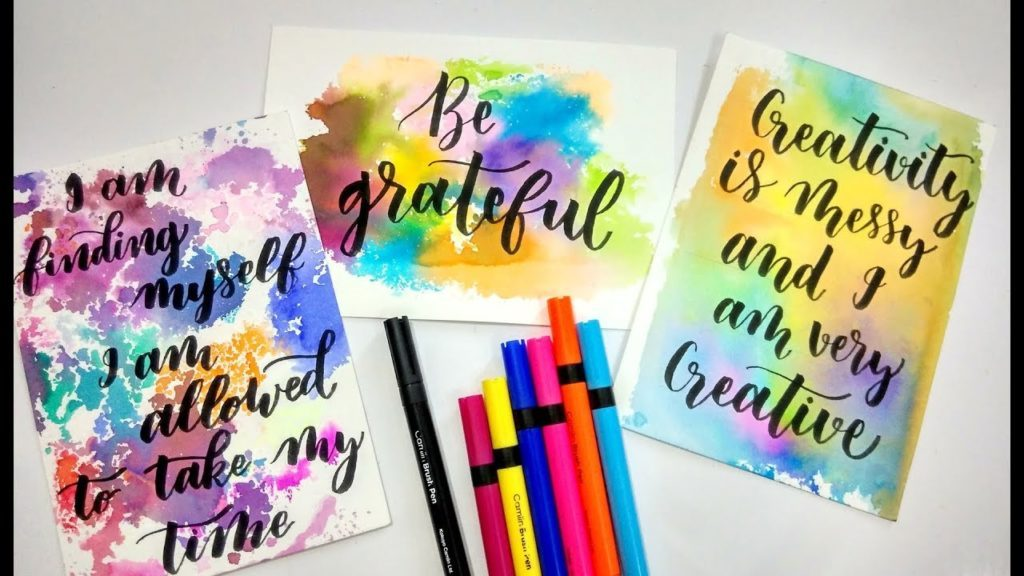 Amazing Calligraphy Tutorials